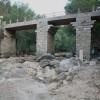 Início da obra de reparação da ponte no Sobral