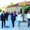 Presidente da CCDRC inaugurou obras da regeneração urbana de Vouzela