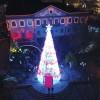 Inauguração da Árvore de Natal gigante no dia 3 de dezembro