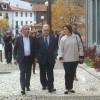 Ministro da Cultura visitou obras do Balneário Romano