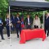 Secretário de estado lança 1.ª pedra do Parque Urbano das Nogueiras