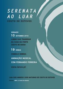 Serenata ao Luar em Couto de Esteves @ Largo Casa da Fonte | Couto de Baixo | Distrito de Viseu | Portugal