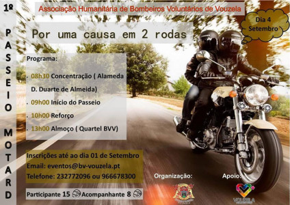 1º Passeio MOTAR @ Alameda D. Duarte de Almeida | Vouzela | Distrito de Viseu | Portugal