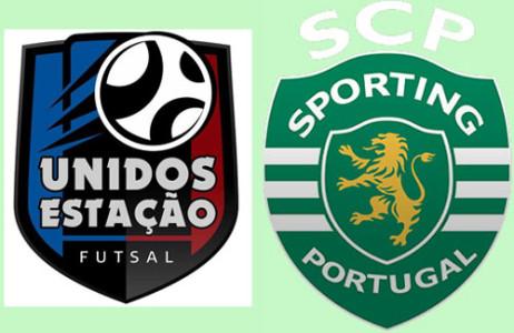 Associação Unidos da Estação (Futsal) / Sporting Clube Portugal (Futsal) @ Pavilhão Municipal de S. Pedro do Sul | São Pedro do Sul | Distrito de Viseu | Portugal